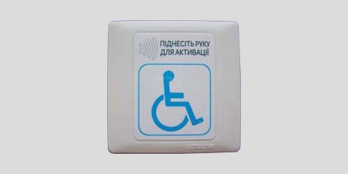 Handicap access contactless sensor