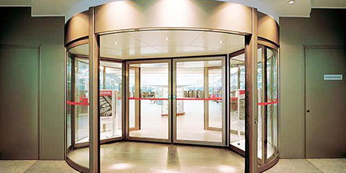 Revolving door_two wings